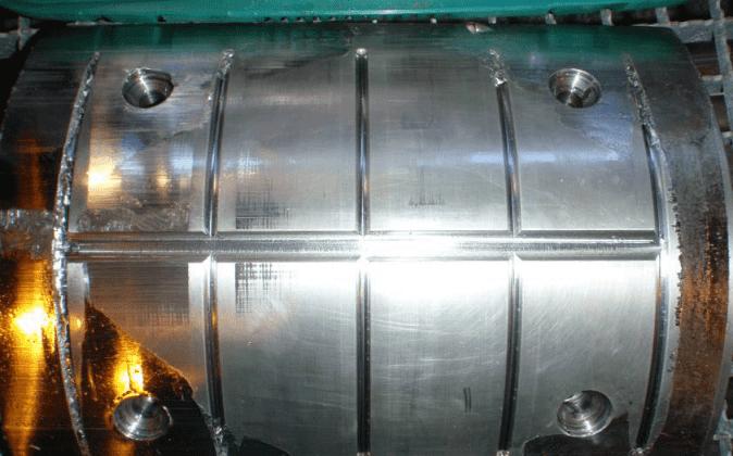 Foto des Überwachungssystems eines Kolbenverdichters