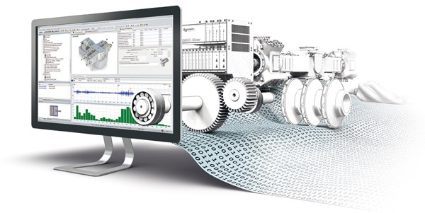 Vibration based online condition monitoring of Rotating