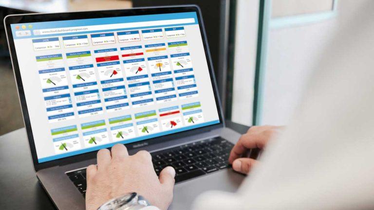 PROGNOST® Cloud Dashboard