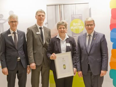 Auszeichnung vom Verband Lernen fördern