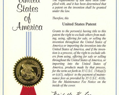 Confidence Factor Patent